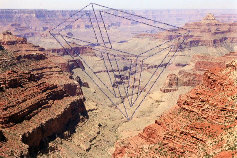 Impossible Geometries Grand Canyon by Millee Tibb