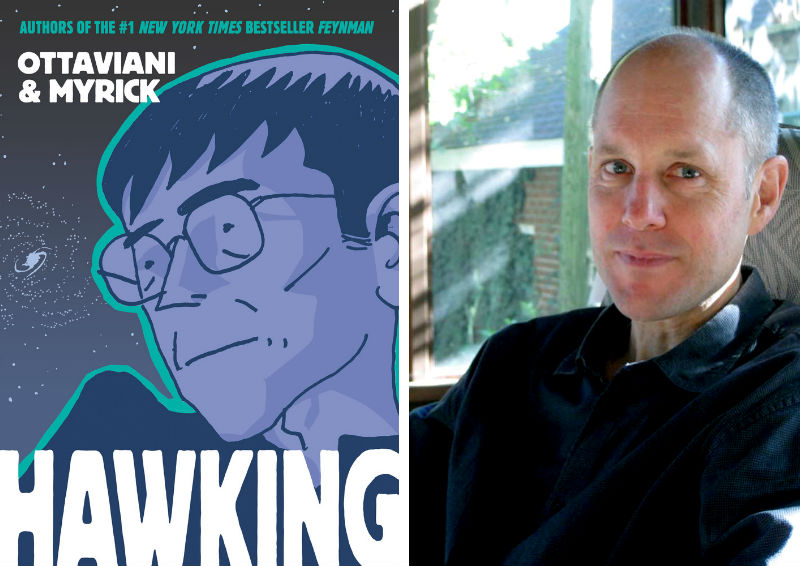 Jim Ottaviani and his book Hawking