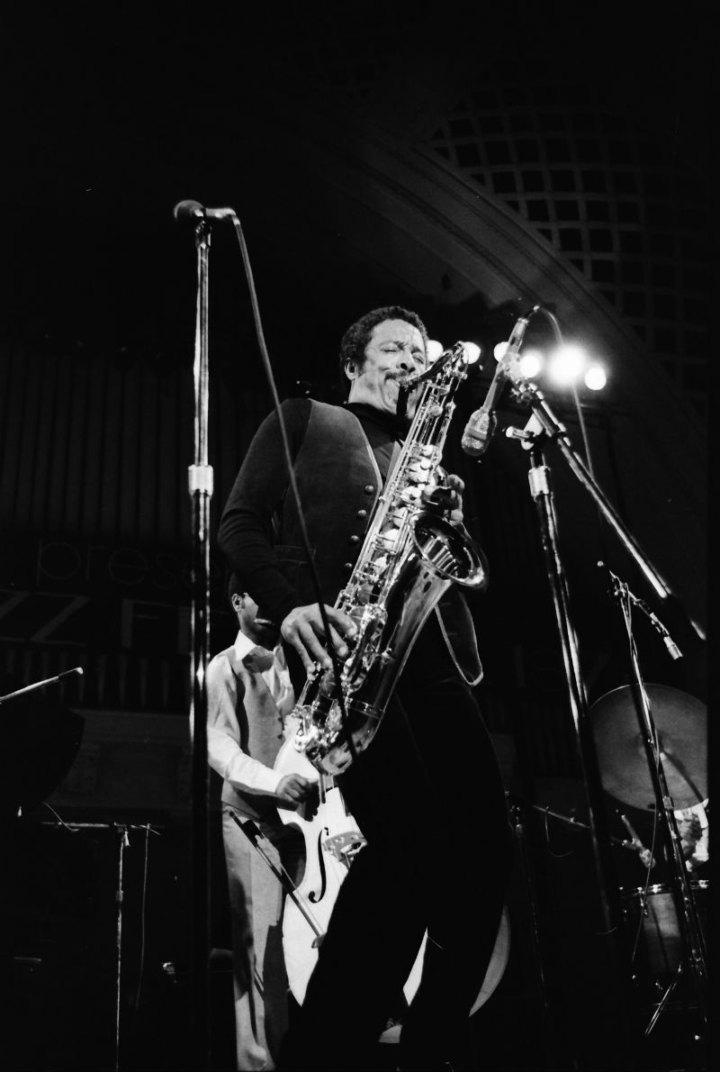 Johnny Griffin at Hill Auditorium, 1978