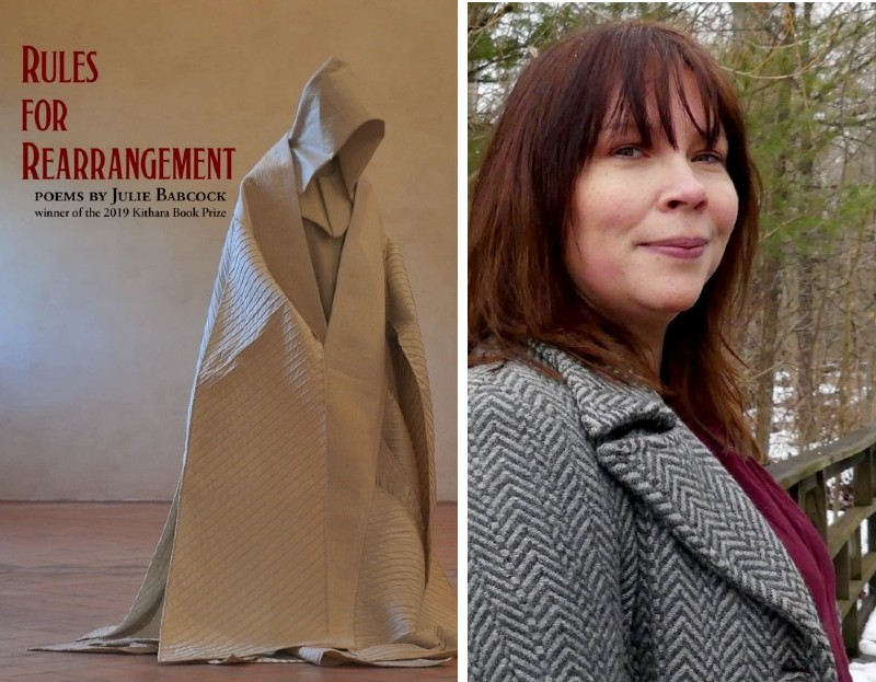 Poet Julie Babcock and her book Rules of Engagement