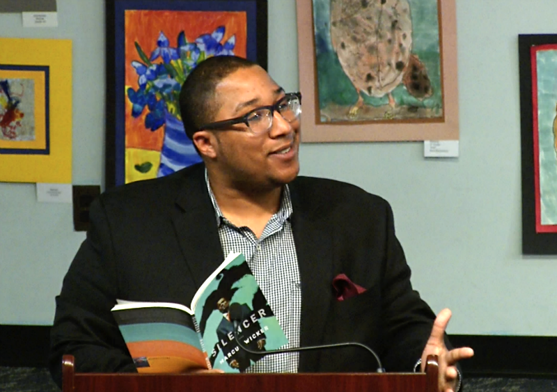 Poet Marcus Wicker reads at AADL