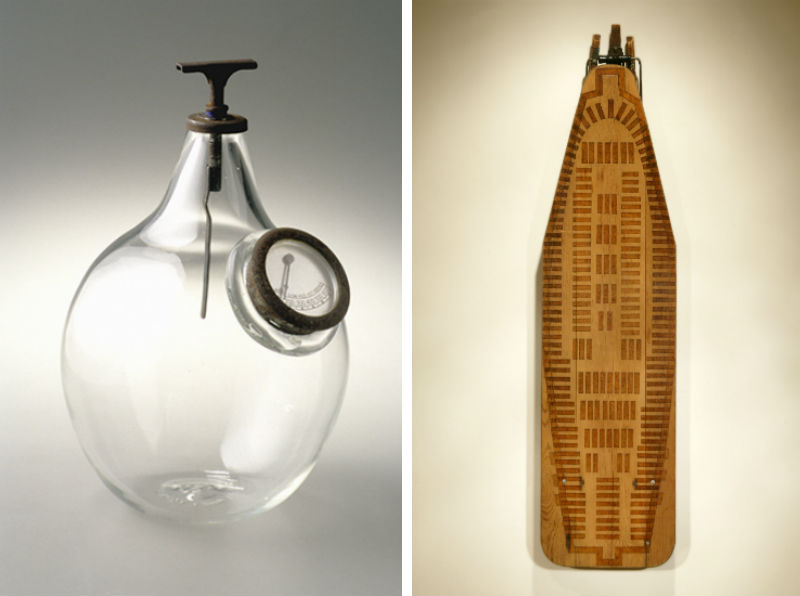Marianetta Porter's Vessel #1 and Slaver #2 (Ironing board)