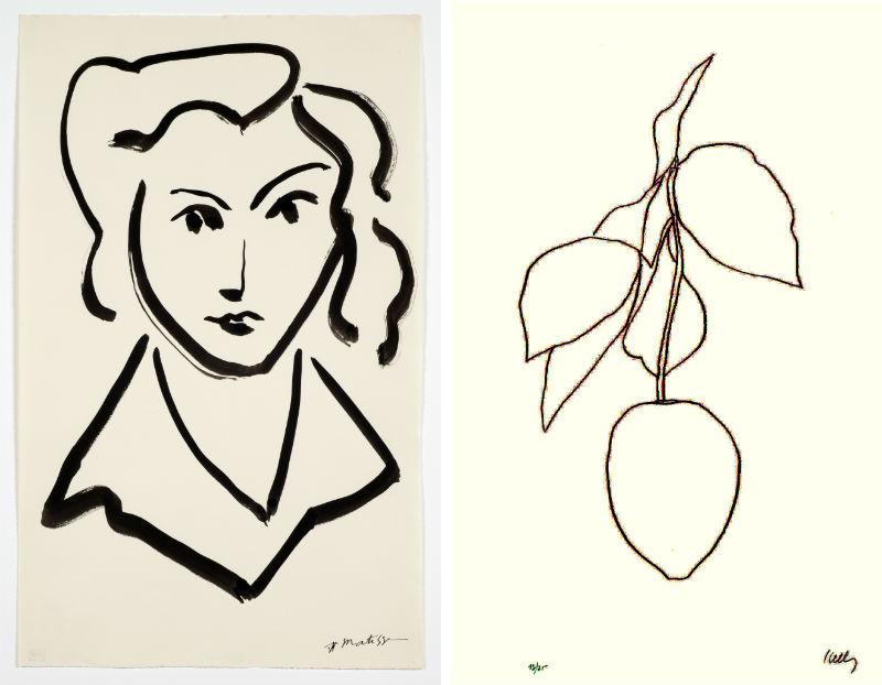 Matisse Contour Line Drawing : Pulp arts around ann arbor