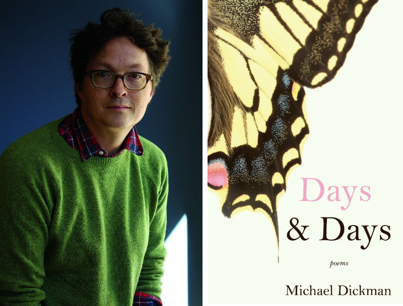 Poet Michael Dickman and his books Days & Fays