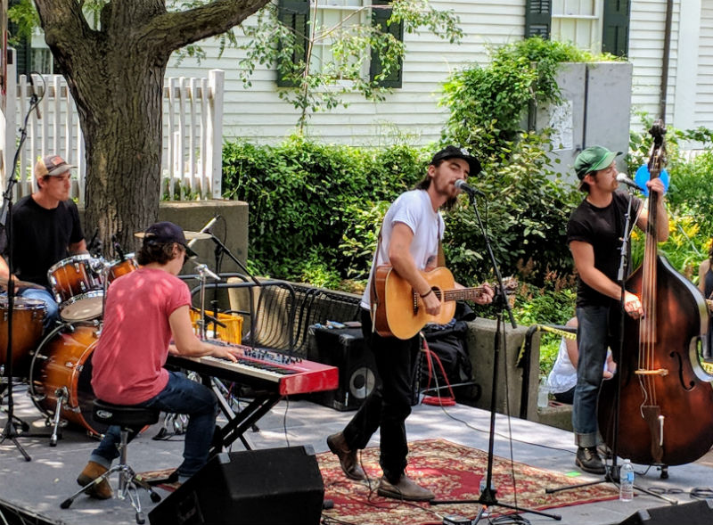 Michigan Rattlers at Sonic Lunch, July 5, 2018