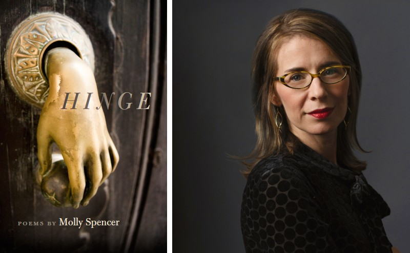 Molly Spencer and her book Hinge