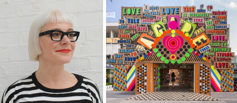Morag Myerscough, Temple of Agape