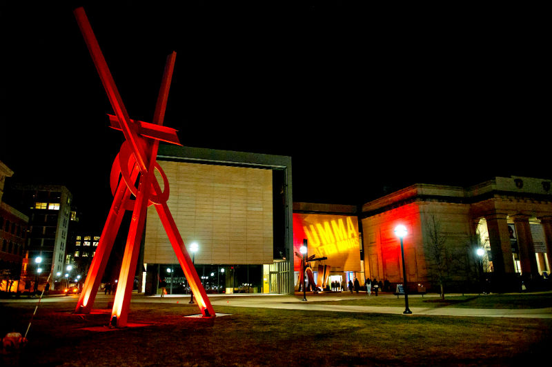 Mark di Suvero's Orion at UMMA