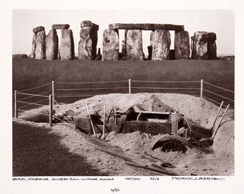 Patrick Nagatani, Bentley, Stonehenge photo