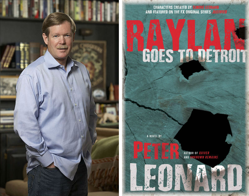 Peter Leonard and his book Raylan Goes to Detroit