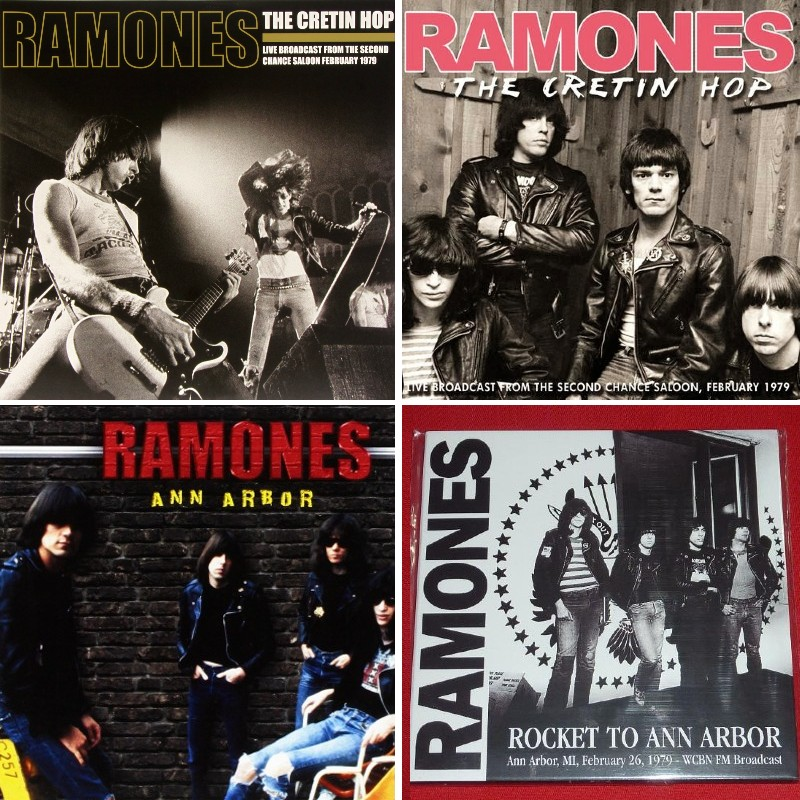 Bootlegs of The Ramones' February 1979 appearance in Ann Arbor