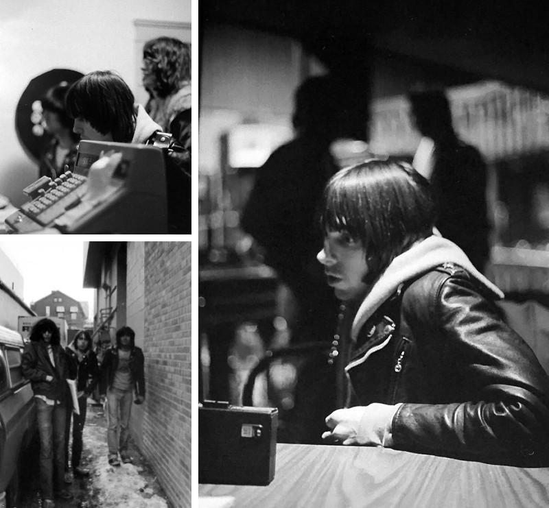 Previously unpublished photos of The Ramones in Ann Arbor by The Michigan Daily