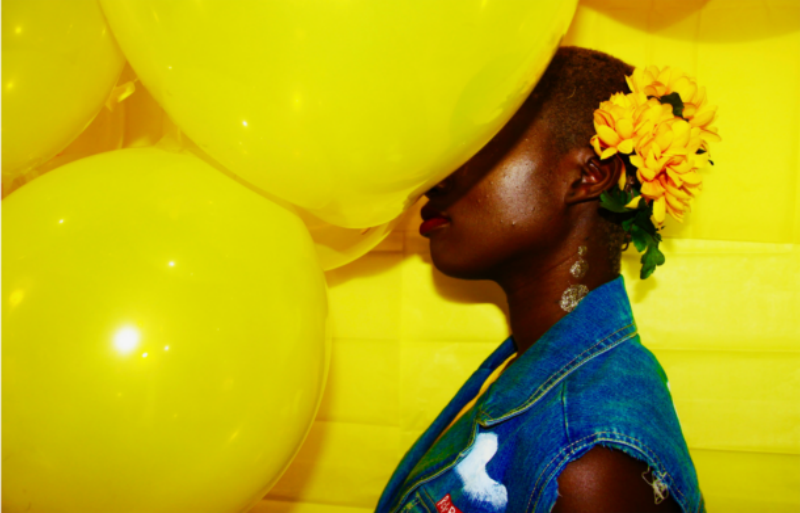 RckBny's photograph Yellow Balloon Image