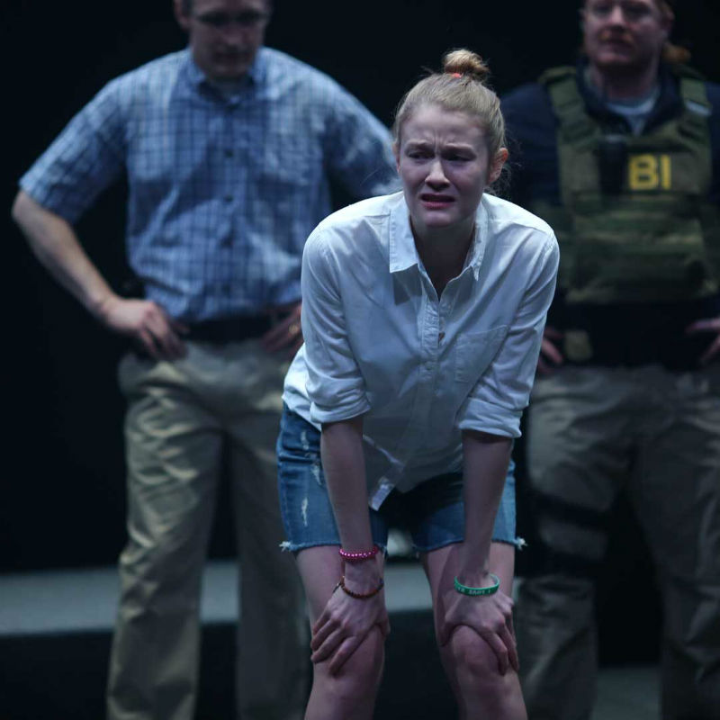 Reality Winner played by Emily Davis