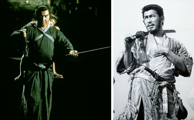Lone Wolf & Cub and Seven Samurai photos