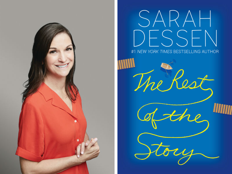 Sarah Dessen and her book The Rest of the Story
