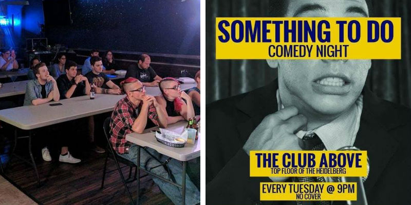 Something to Do Comedy night at Heidelberg's Club Above