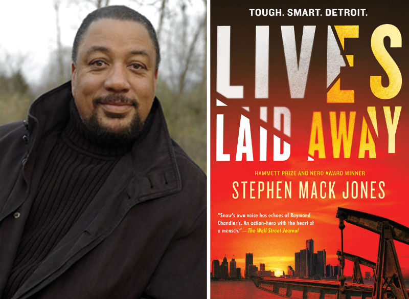 Stephen Mack Jones and his book Lives Laid Away