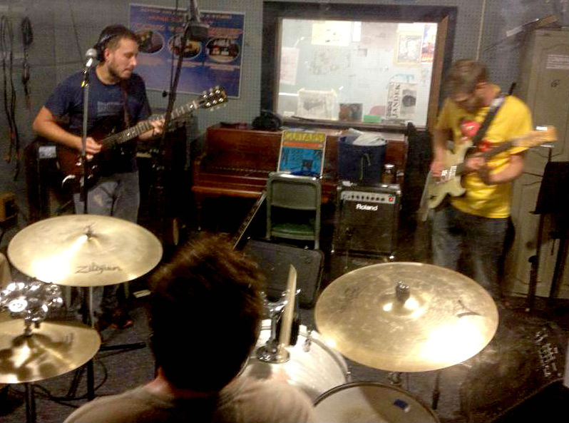 Supercollider live on WCBN's Local Music Show, 8-14-2013