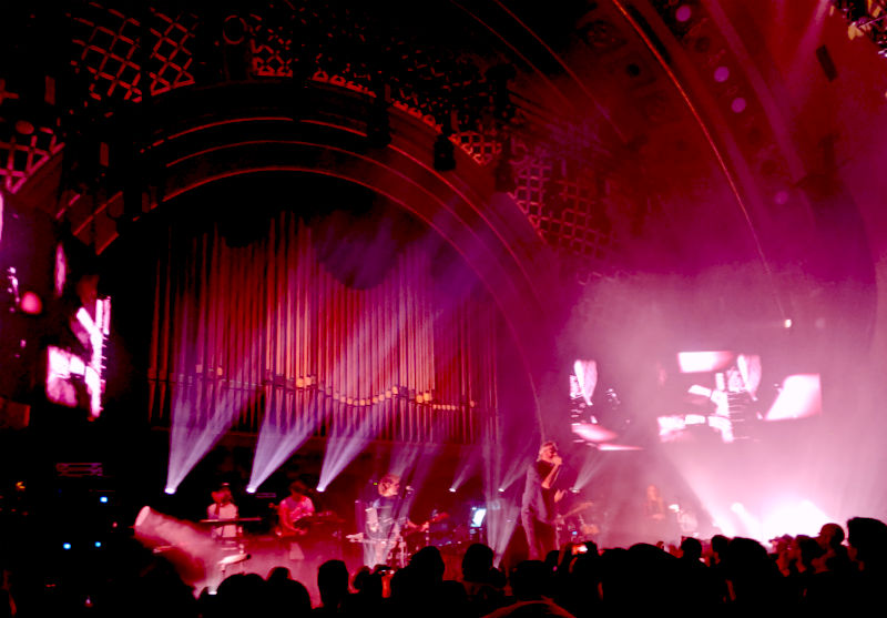 The National at Hill Auditorium