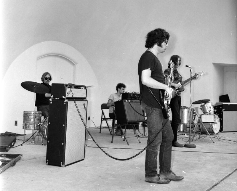 The Seventh Seal playing the West Park band shell in 1967