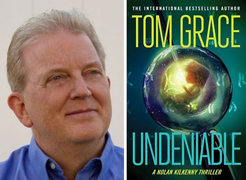 "Author Tom Grace and his book ""Undeniable"""