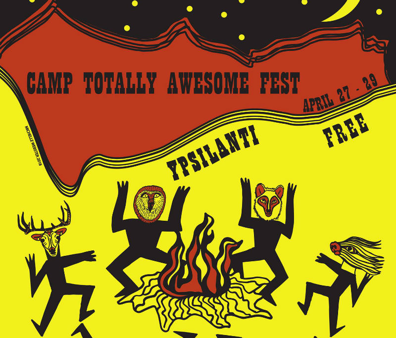 Camp Totally Awesome Fest 14