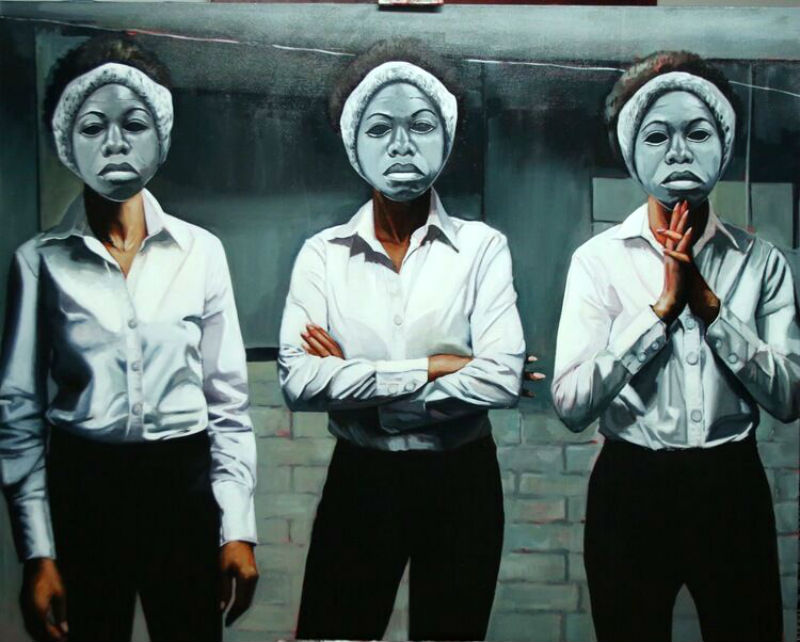 Tylonn Sawyer, 3 Graces: Nina, 2015