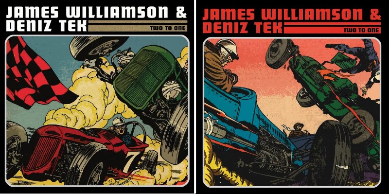 James Williamson & Deniz Tek CD and LP covers